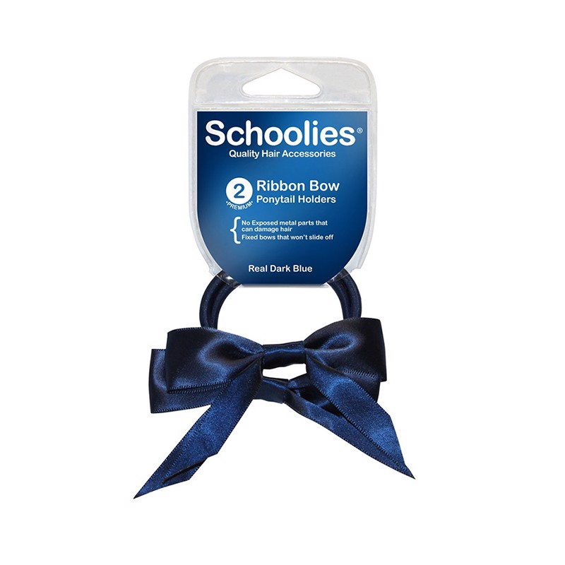 Cột ruy băng schoolies 2pc Real Dark Blue
