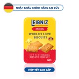 Hộp bánh Leibniz World love biscuits minis 300g