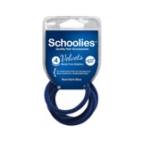 Cột tóc Velvet Schoolies 4pc Real dark blue