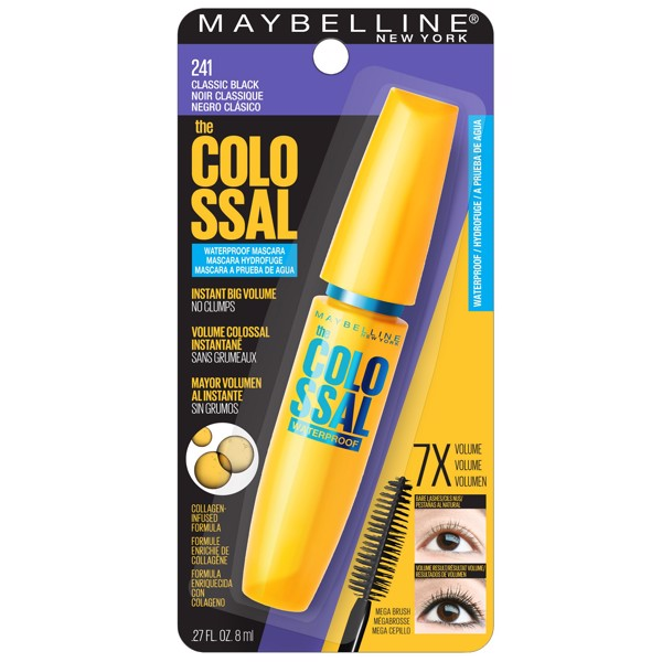 Mascara Maybelline làm dày & cong mi Colossal Volum' Express 8ml