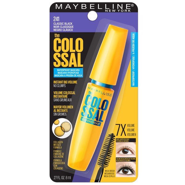Mascara Maybelline 241 làm dày & cong mi Colossal Volum' Express 8ml