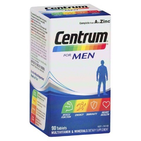 Centrum Vitamin Cho Nam For Men 90 Viên