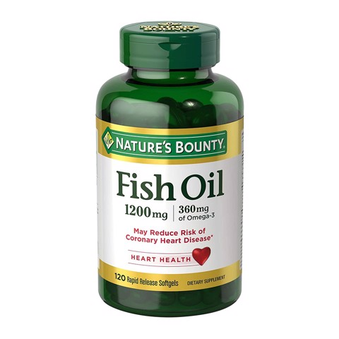 Nature's Bounty Dầu Cá Fish Oil 1200mg Omega 3