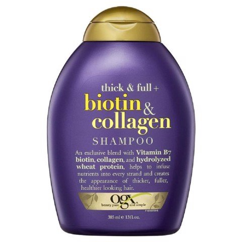 OGX Dầu Gội Biotin & Collagen 385ml