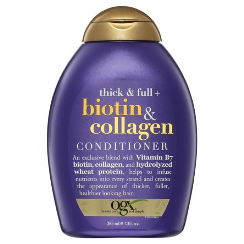 OGX Dầu Xả Biotin & Collagen Conditioner 385ml