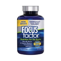 Focus Factor Viên Uống Vitamin Bổ Não Nutrition For The Brain 180 Viên