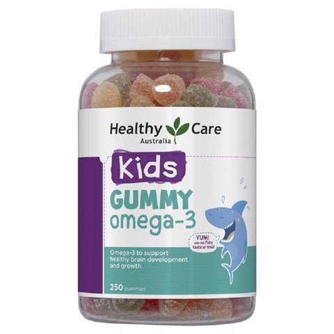 Healthy Care Kẹo Gummy Omega 3 250 Viên
