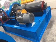 Electric Winch Q=2x60T - Nam Non, Nghe An Project