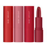 Son lì Baby Bright Cotton Matte Lipstick 3.6g  #06 Goji Berry
