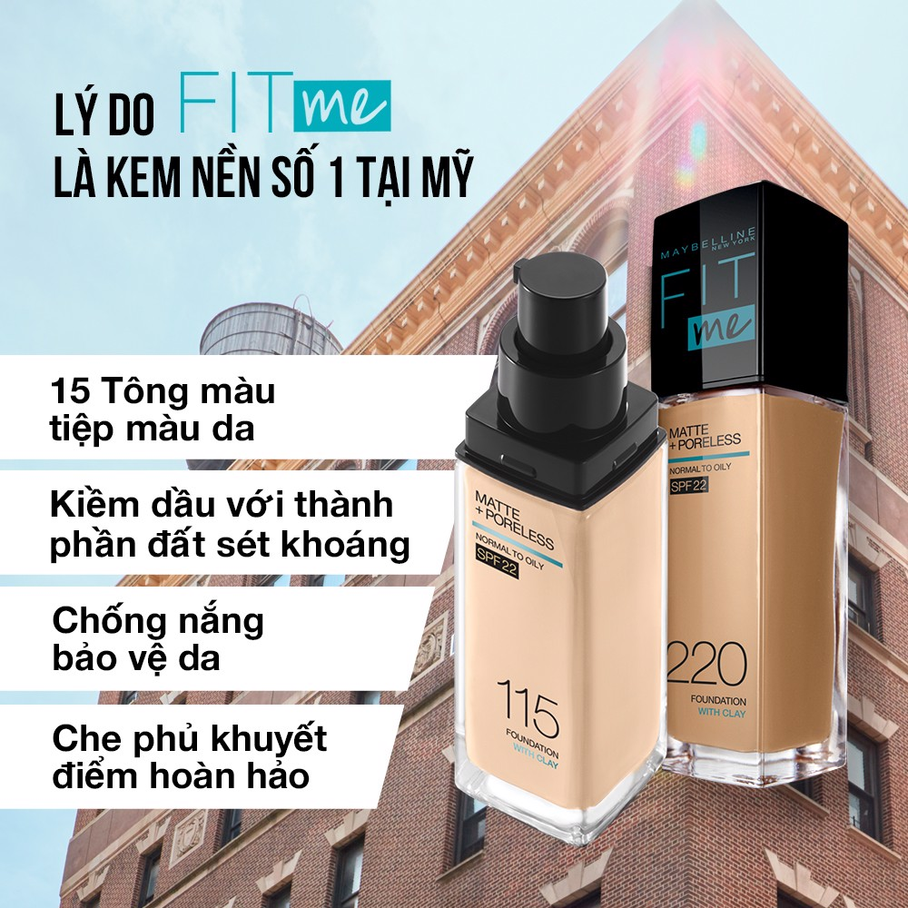 Kem Nền Maybelline New York FitMe SPF22 30ml .#230