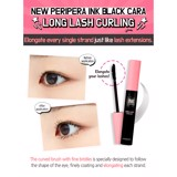 Mascara chải mi Peripera Ink Black Cara #1 Long Lash Curling 7g