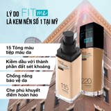 Kem Nền Maybelline New York FitMe SPF22 30ml .#115