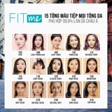 Kem Nền Maybelline New York FitMe SPF22 30ml .#120