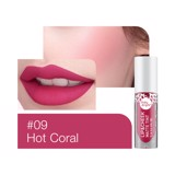 Son kem và má hồng Baby Bright Lip & Cheek Matte Tint 2.4g #09 Hot Coral
