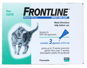 FRONTLINE® PLUS FOR CATS