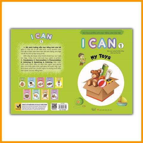 I CAN 1: My toys
