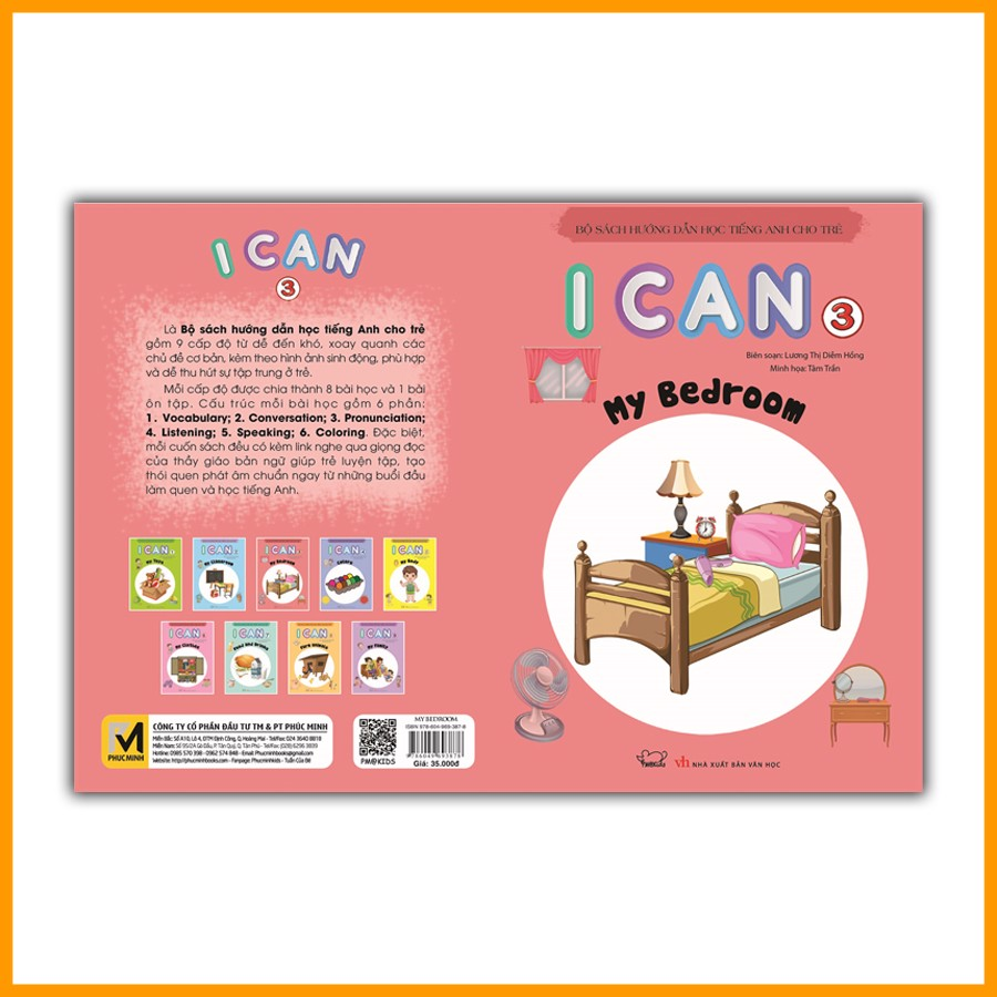 I CAN 3: My bedroom