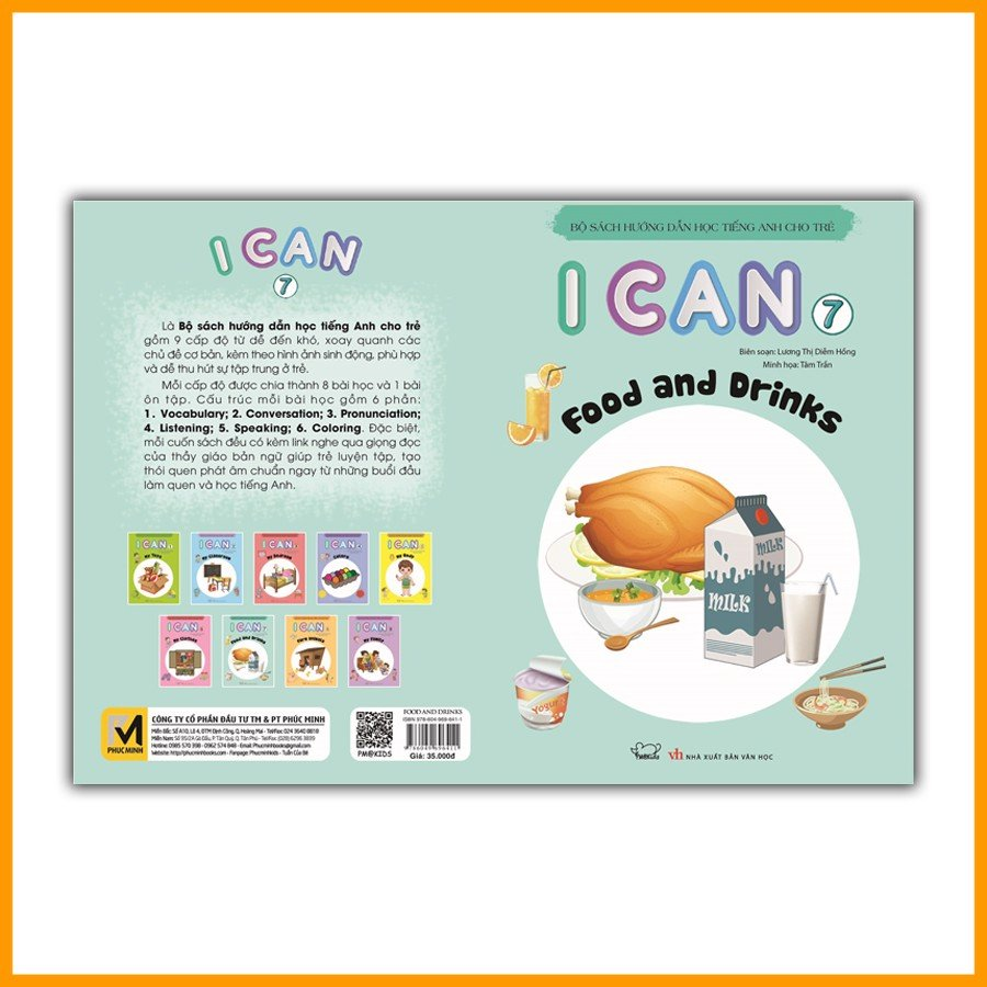 I CAN 7: Food and drink