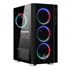 Case Montech Fighter 600 ( Tặng Kèm 4 Fan Rainbow )