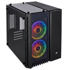 Case CORSAIR 280X RGB - Black Mini tower