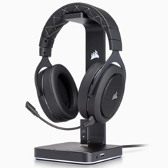 Tai nghe Corsair HS70 WIRELESS - SE Carbon