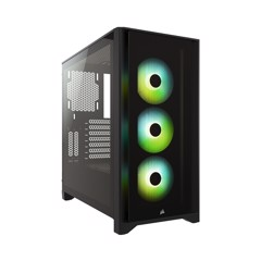 Case CORSAIR iCUE 4000X RGB TG BLACK Mid Tower