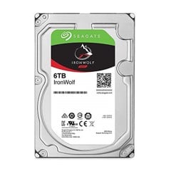 HDD Seagate IronWolf 6TB 3.5 inch SATA III 256MB Cache 7200RPM ST6000VN0033