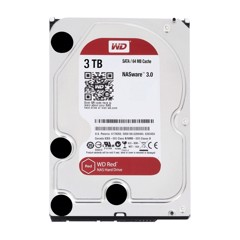 HDD WD Red 3TB 3.5 inch SATA III 256MB Cache 5400RPM WD30EFAX