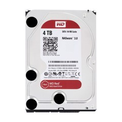 HDD WD Red 4TB 3.5 inch SATA III 256MB Cache 5400RPM WD40EFAX