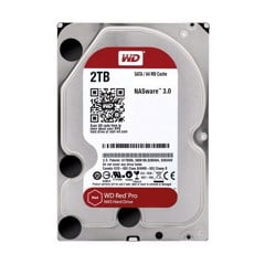 HDD WD Red Pro 2TB 3.5 inch SATA III 64MB Cache 7200RPM WD2002FFSX