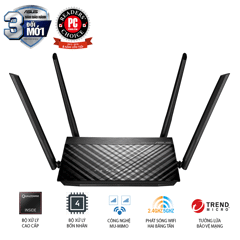 Router wifi ASUS RT - AC59U (Mobile Gaming) Wireless AC1500Mbps
