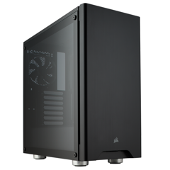 Case CORSAIR 275R Tempered Glass AirFlow Black Mid Tower