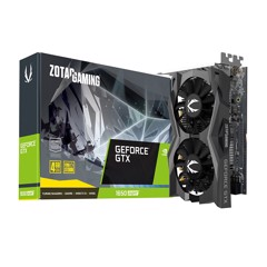 ZOTAC GTX 1650 SUPER TWIN FAN 4GB GDDR6