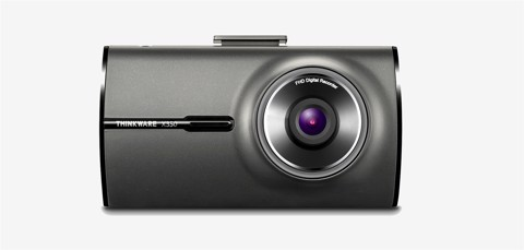 "THINKWARE DASH CAM X350 1080p Full HD / 30fps / 140° Wide Angle /  2.7"" Clear Display / Built-in Wi-Fi / Safety Camera Alert"