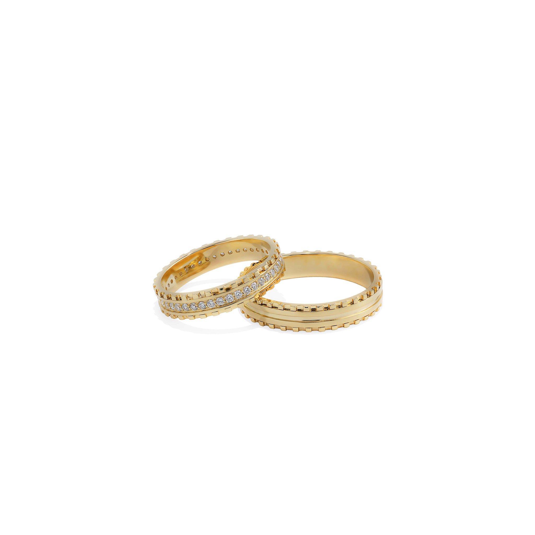 Nhẫn cưới Kim cương NK087044