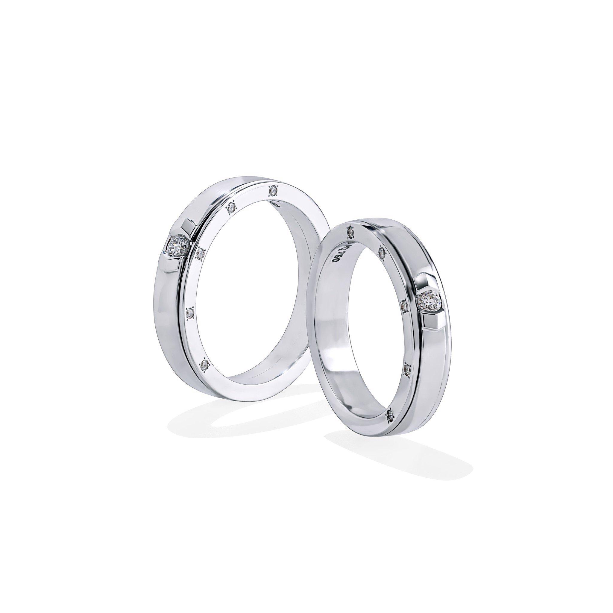 Nhẫn cưới Kim cương NK714874