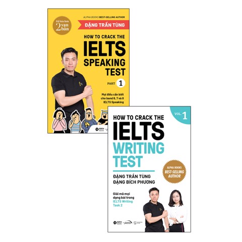 Combo How to Crack the IELTS (tái bản)