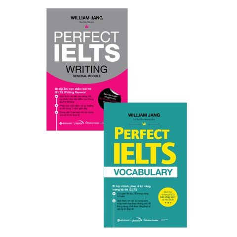 Combo Perfect IELTS General (Freeship)