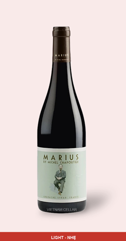 MChapoutier Marius Languedoc IGP Red