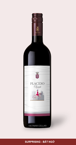 Placido Chianti DOCG (bordolese bottle)
