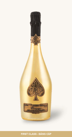Champagne As de Pique Armand de Brignac Gold
