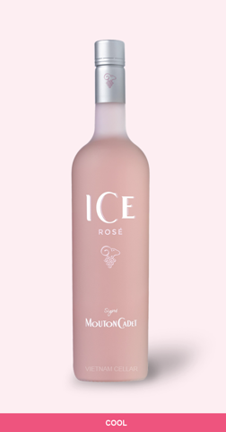 Mouton Cadet Ice Rose