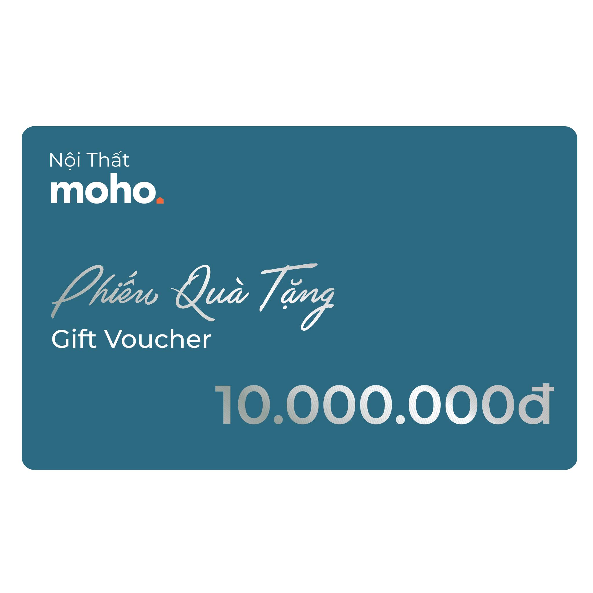 Gift Voucher 10,000,000₫