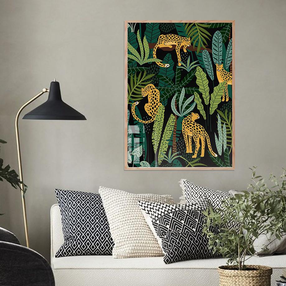 Tranh Animal 46 - Tranh Khung Kính