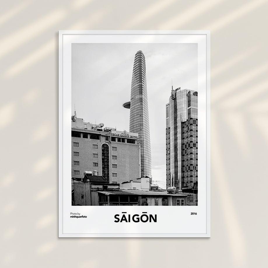 Tranh Saigon 04 - Tranh Khung Kính