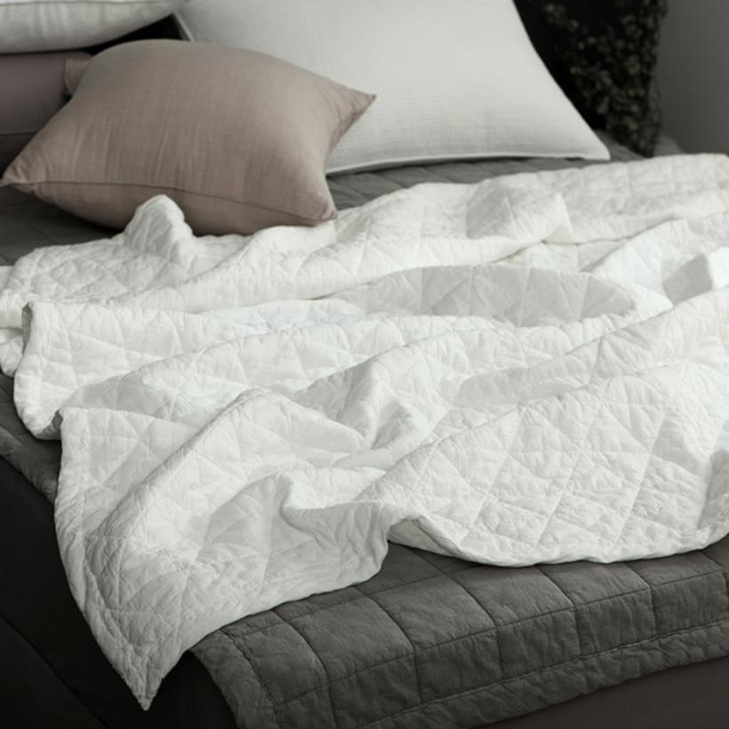 Chăn Hè Thu Cao Cấp Hàn Quốc Cotton- Aigle Pigment Pad Nhiều Màu Sắc