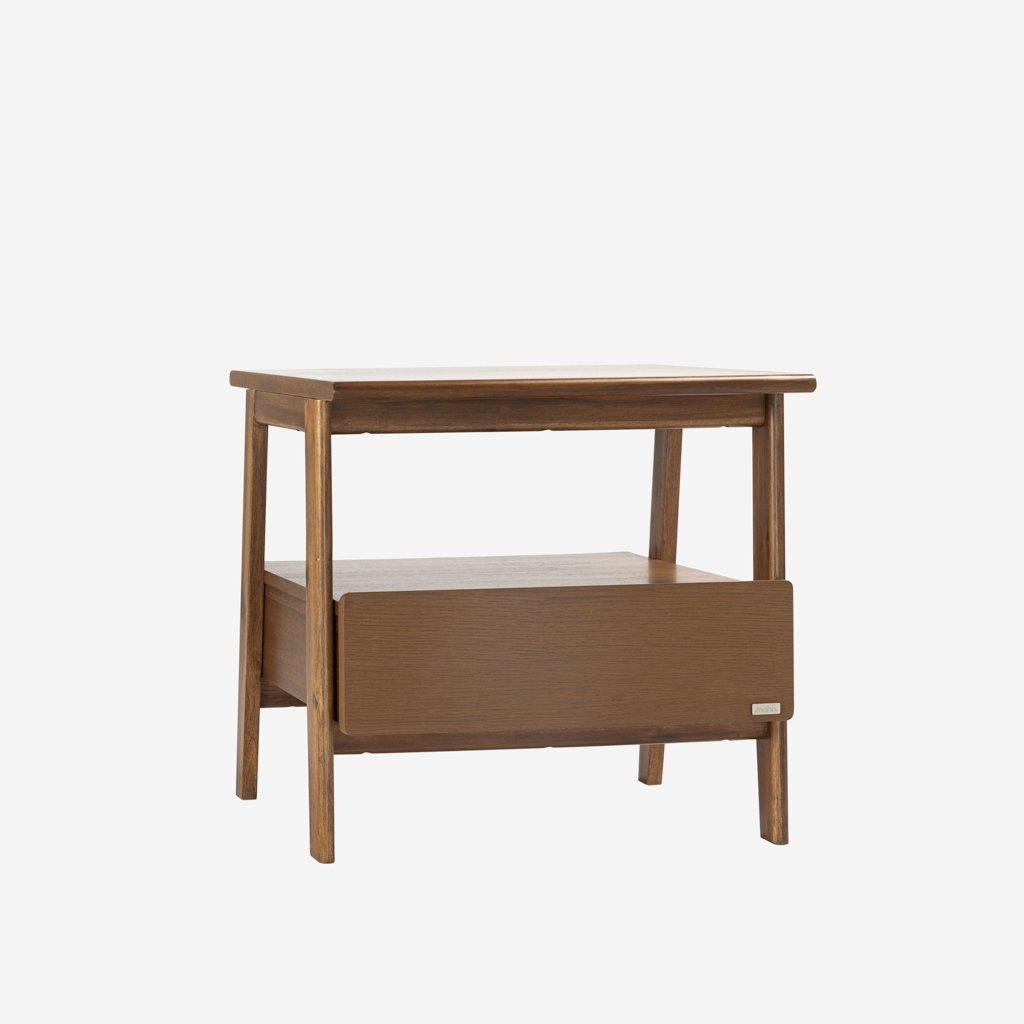 Tủ Đầu Giường Gỗ Tràm MOHO VLINE 801