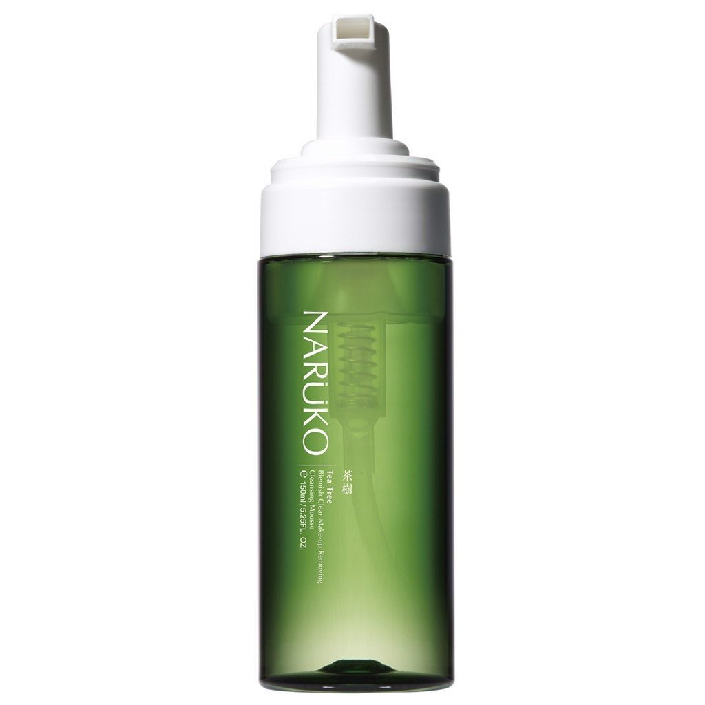 Tẩy Trang Dạng Bọt Naruko Tea Tree Blemish Clear Make-up Removing Cleansing Mousse 150ml