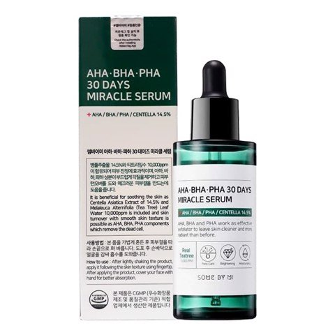 Tinh chất Serum Trị Mụn Some By Mi AHA-BHA-PHA 30 Days Miracle Serum 50ml