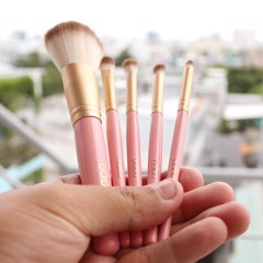 Bộ Cọ Odbo Teddy Bear Hair Brush Set OD806